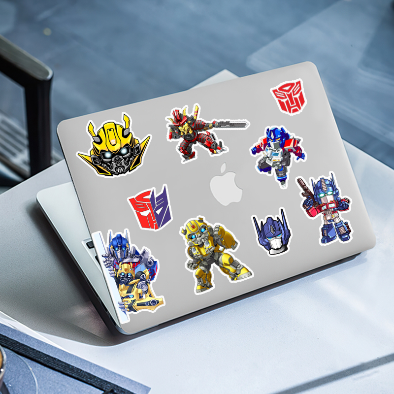 Miếng Dán Sticker Chống Nước |  Set 50 Hình Sticker Transformers