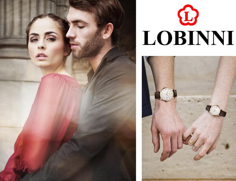 Đồng hồ đôi chính hãng Lobinni No.1651-2