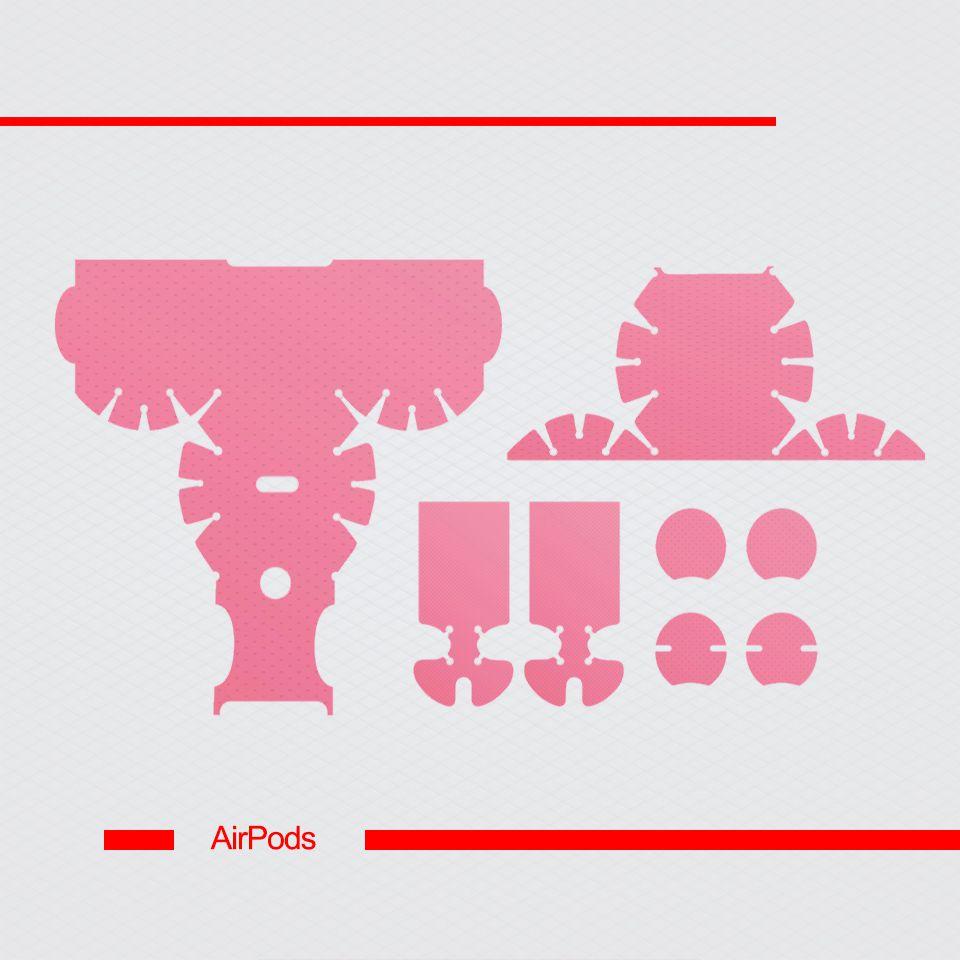 Miếng dán skin chống bẩn cho tai nghe AirPods in hình thiết kế - atk325 (bản không dây 1 và 2)