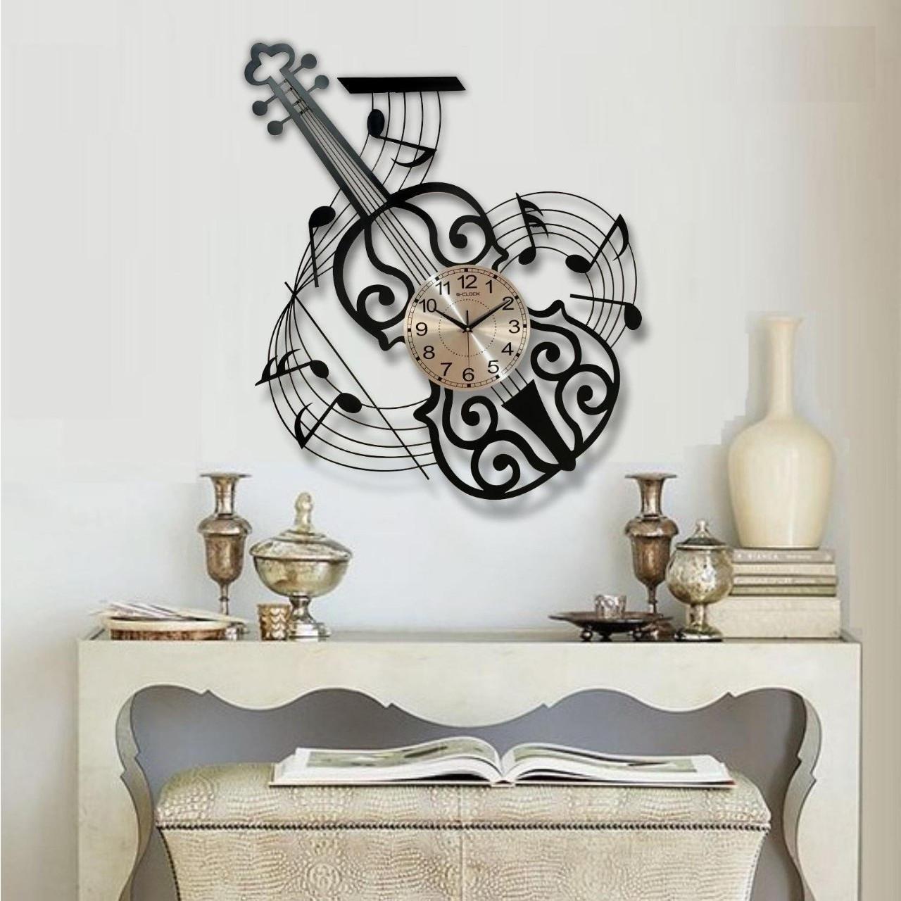 Đồng hồ treo tường hình đàn ghita 1938 (90x80)
