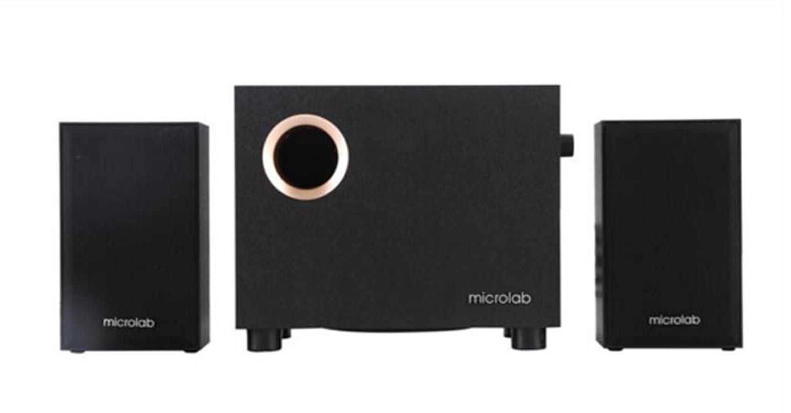 Bộ Loa máy tính Microlab M105/2.1 - Hàng Chính Hãng