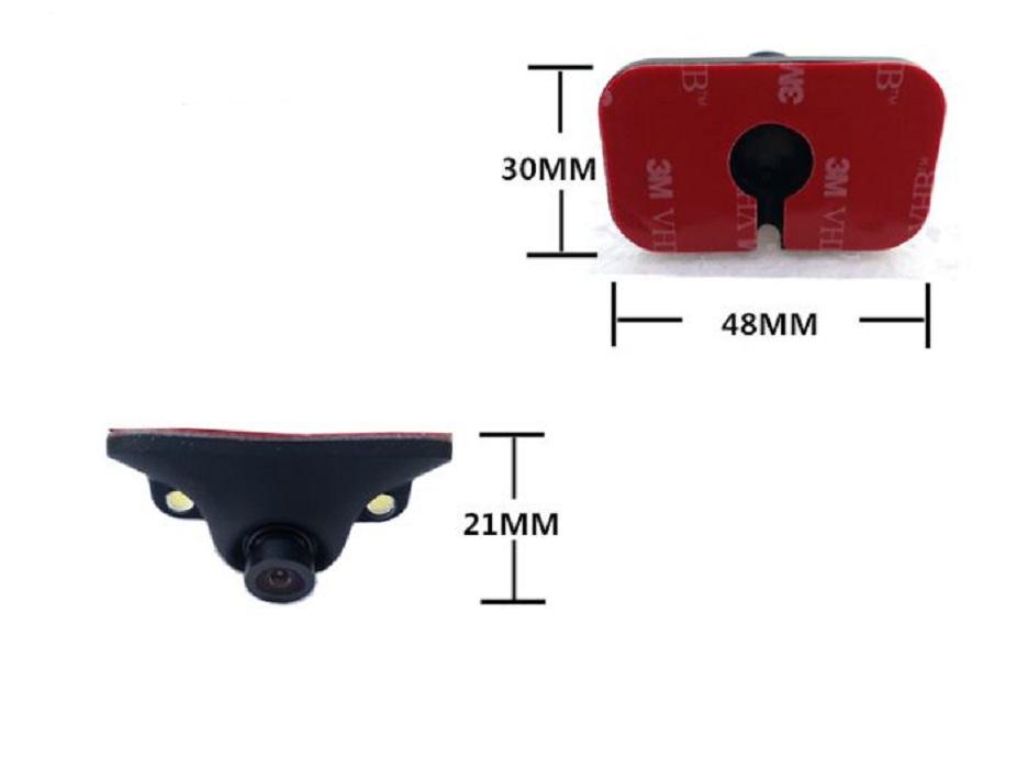 Camera cặp lề không cần khoan gương tặng 1 lọ keo dính chuyên dụng cho ô tô
