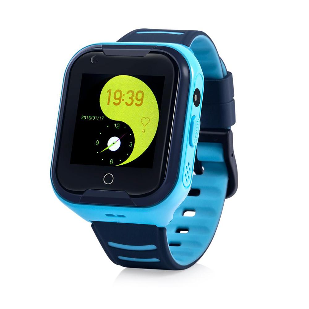 Đồng hồ định vị trẻ em nghe gọi video call Wonlex KT11 (Xanh dương) - Hàng chính hãng