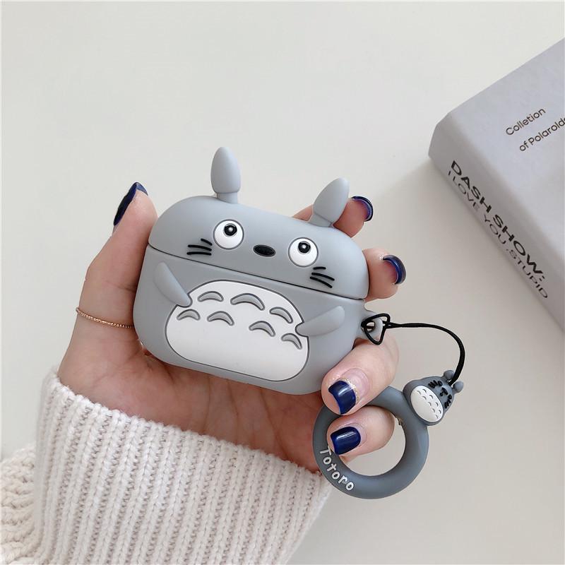 Airpods Pro case, Ốp bảo vệ Dành cho Airpods Pro - Totoro - Hàng chính hãng