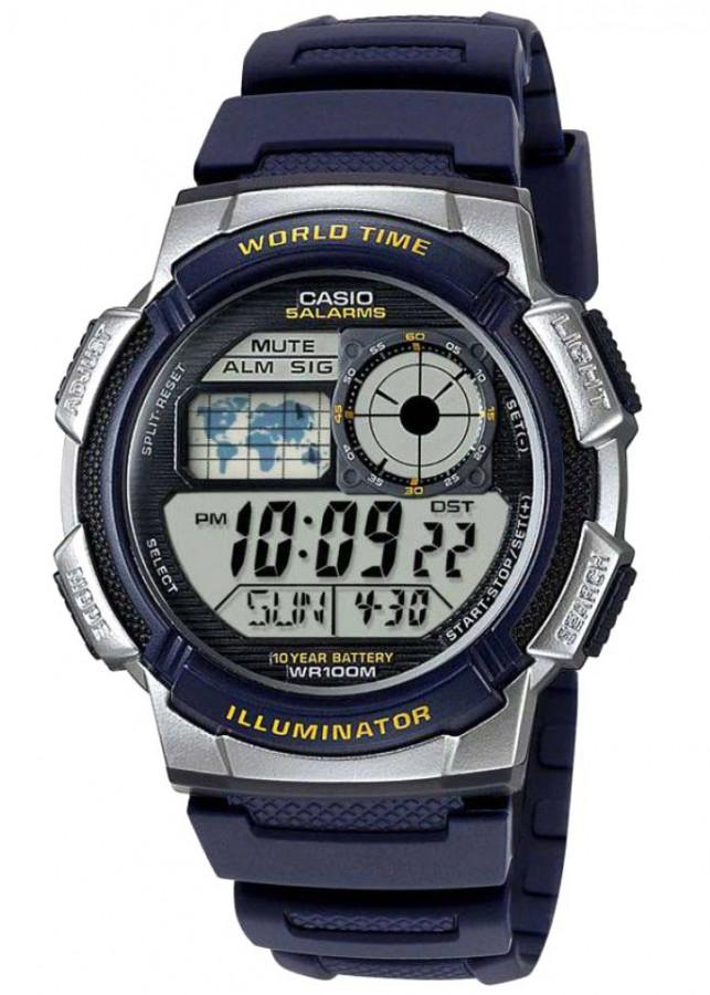 Đồng hồ nam dây nhựa Casio AE-1000W-2AVDF