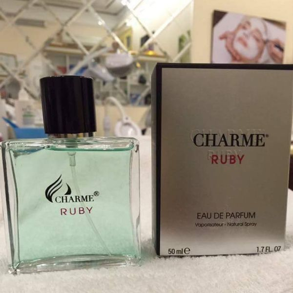 Nước hoa Nam Charme Ruby 50ml - Tặng Kèm Thú Nhún Mặt Cười Siêu Dễ Thương