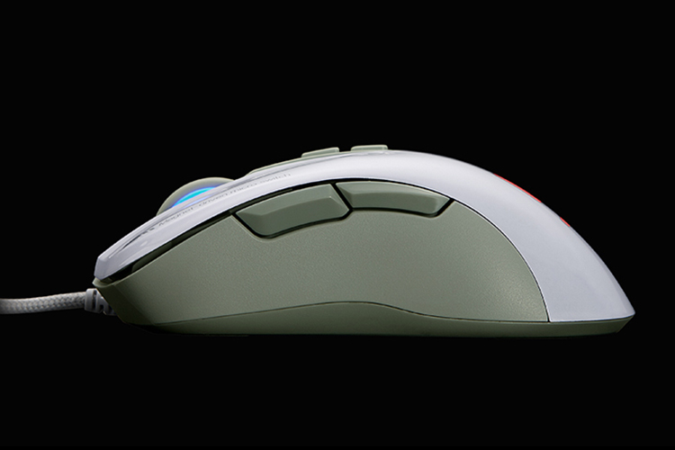 Chuột Chơi Game Có Dây Fuhlen G90 3500DPI LED 7 Phím - Hàng Chính Hãng