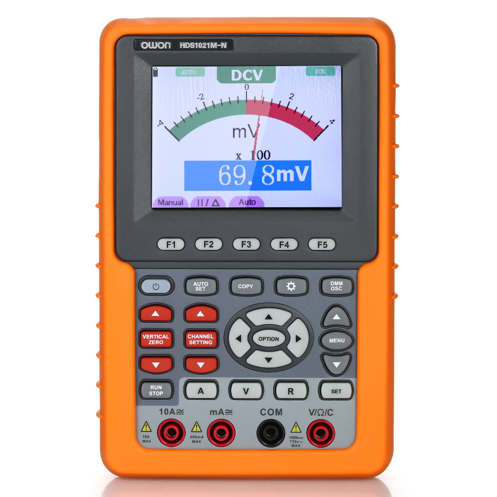 Owon HDS1021M-N Single Channel Oscilloscope Handheld Oscilloscopes Digital Storage Oscilloscope & Multimeter 20MHz Bandwidth 500Ms Sampling Rate US Plug - 23682542 , 3804160544018 , 62_21677952 , 5569000 , Owon-HDS1021M-N-Single-Channel-Oscilloscope-Handheld-Oscilloscopes-Digital-Storage-Oscilloscope-amp-Multimeter-20MHz-Bandwidth-500Ms-Sampling-Rate-US-Plug-62_21677952 , tiki.vn , Owon HDS1021M-N Sing
