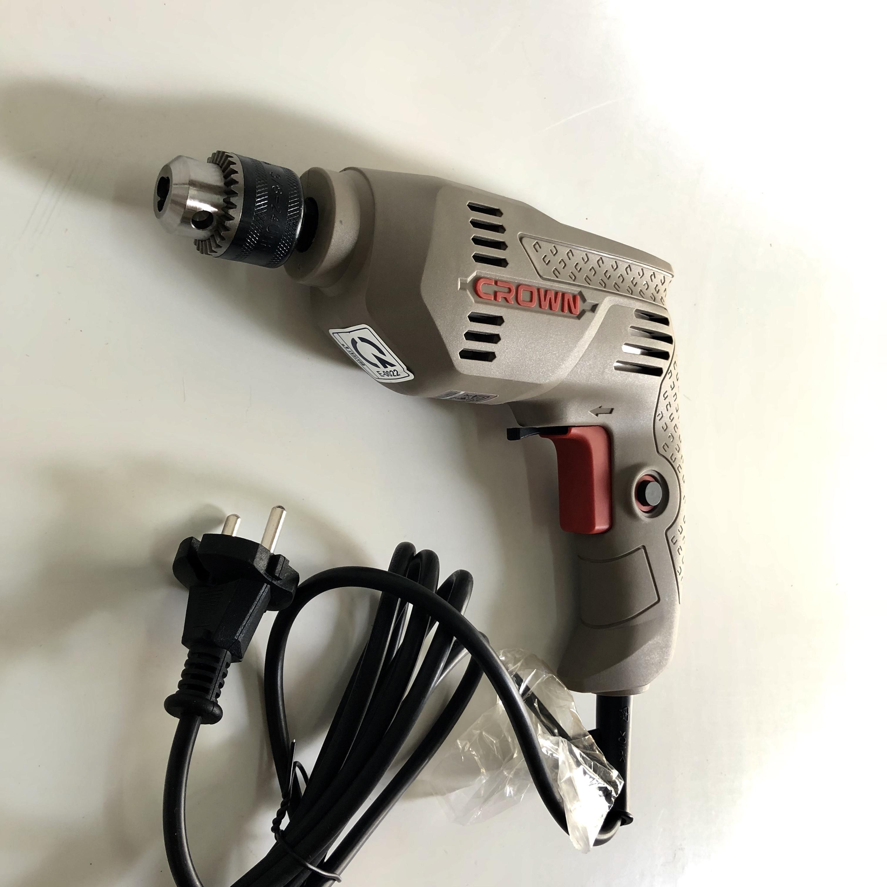 Máy khoan 6mm CROWN CT10125 (300W)