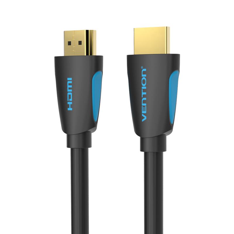 Cáp HDMI 2.0 tròn Vention VAA-M02 (1,5m - 10m) - Hàng Chính Hãng