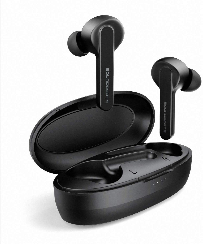 Tai Nghe True Wireless Earbuds SOUNDPEATS TrueCapsule Smart Touch Bluetooth V5.0 - Hàng Chính Hãng