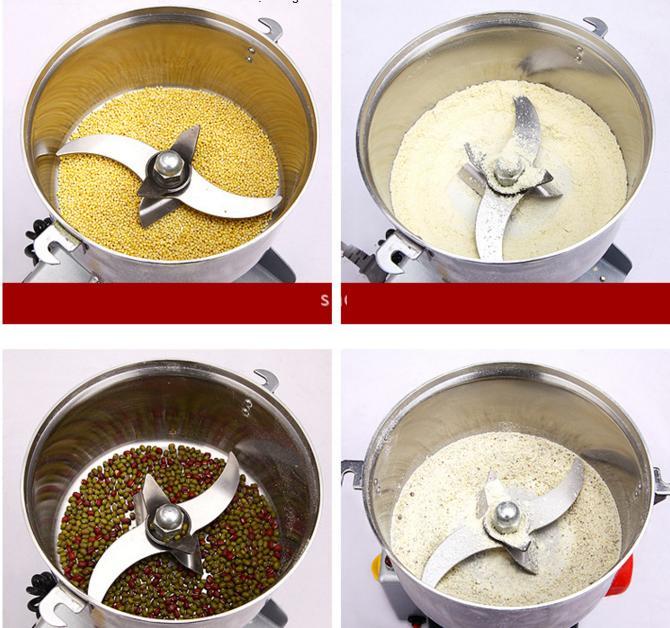 Máy xay hạt ngũ cốc thành bột mịn, nhỏ gọn rất dễ dùng, mỗi mẻ xay 200g tùy từng nguyên liệu