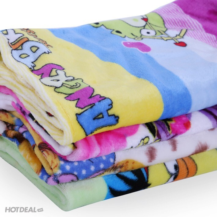 Mền cho bé- Chăn bông tuyết mịn nhẹ cho bé sơ sinh(70*100)