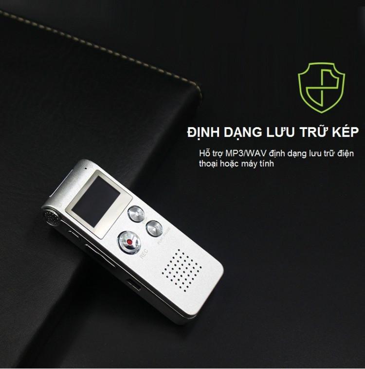 Máy ghi âm Digitalvoice Stereo chuyên dụng AK-012 8GB
