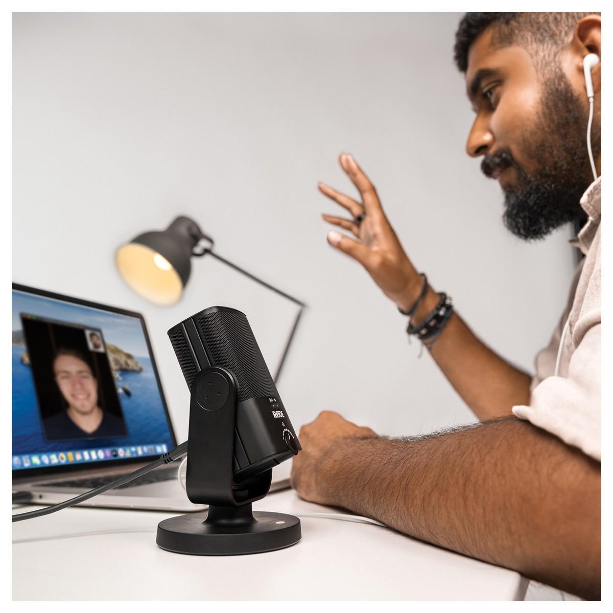 Micro Livestream Cho Game Thủ, Giáo Viên Giảng Dạy, Bài Đọc Youtube Rode NT-USB Mini - Hàng Chính Hãng