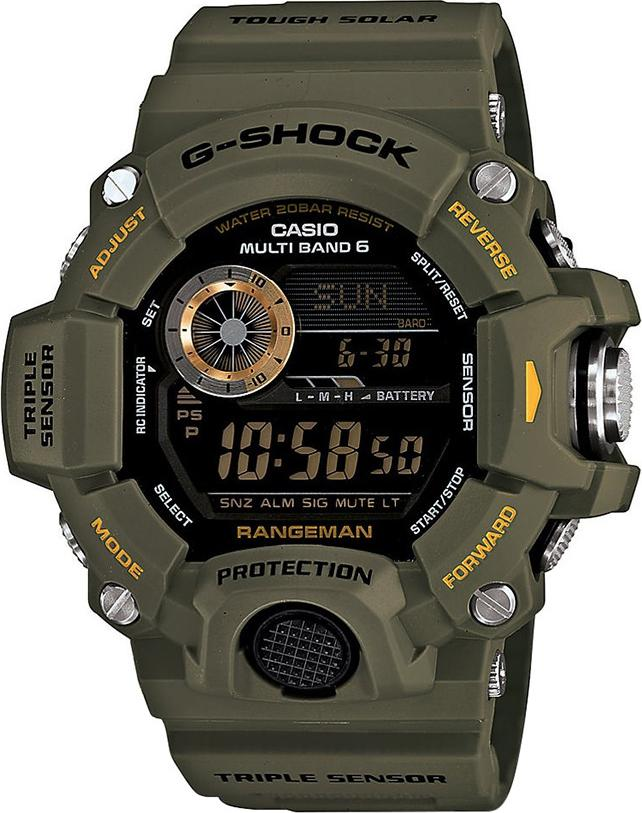 Đồng Hồ Nam Dây Cao Su Casio G-Shock-GW-9400-3DR Điện Tử