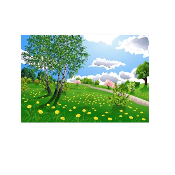 Tranh Dán Tường 3D | Tranh dán tường cửa sổ 3D | T3DMN_T6_391
