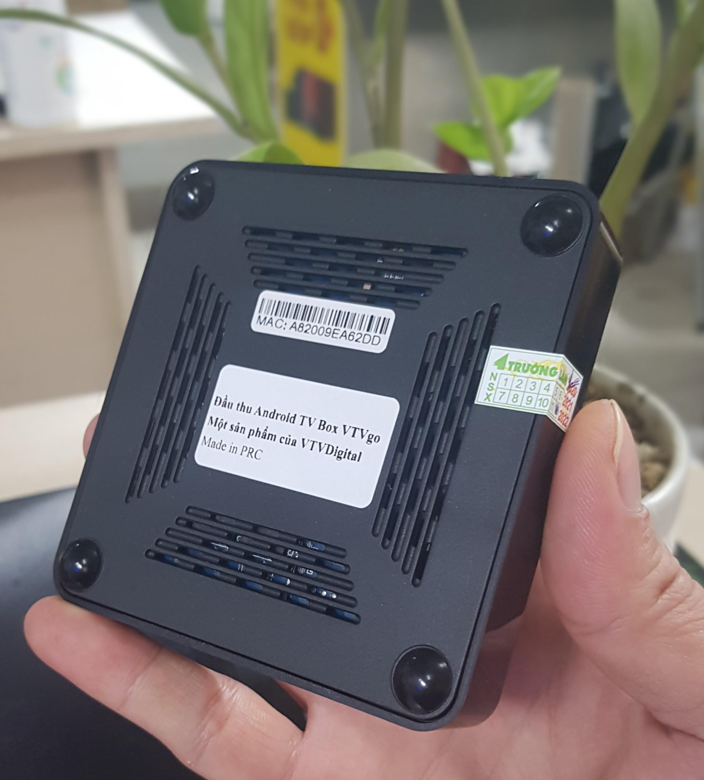 Android Tivi Box VTVgo 2021 Truyền Hình VTVgo phù hợp mang đi nước ngoài , Android 9 Chip amlogic S905W Ram 2GB - Hàng Chính Hãng