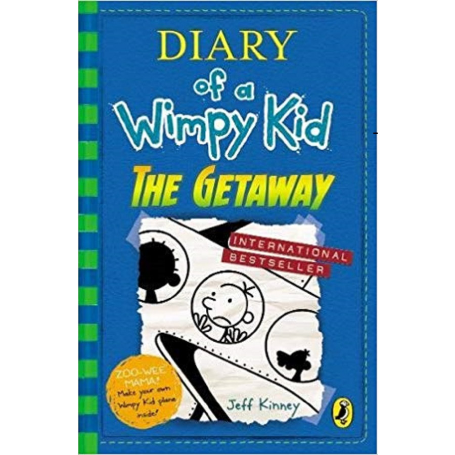 Diary of a Wimpy Kid 12: The Getaway (Paperback)