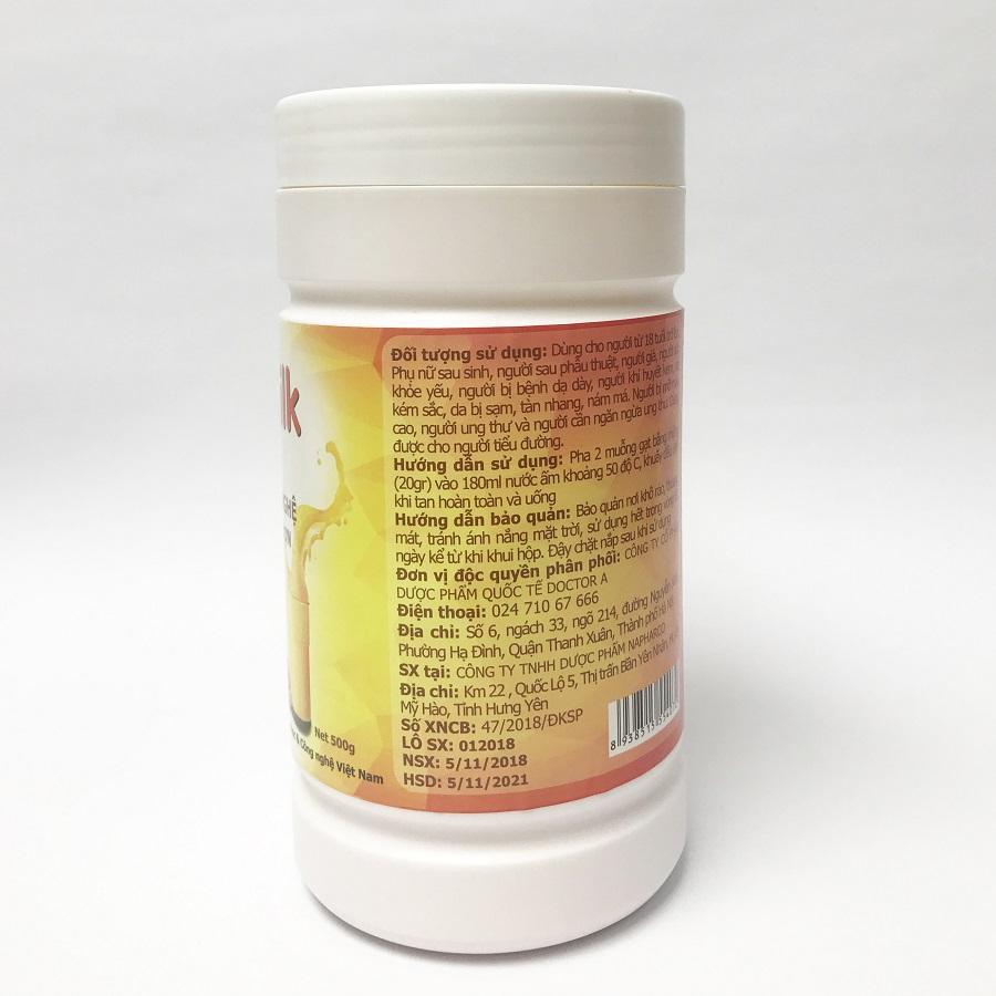 Thực phẩm chức năng Sữa nghệ CurcuMilk Collagen (hộp 500g)