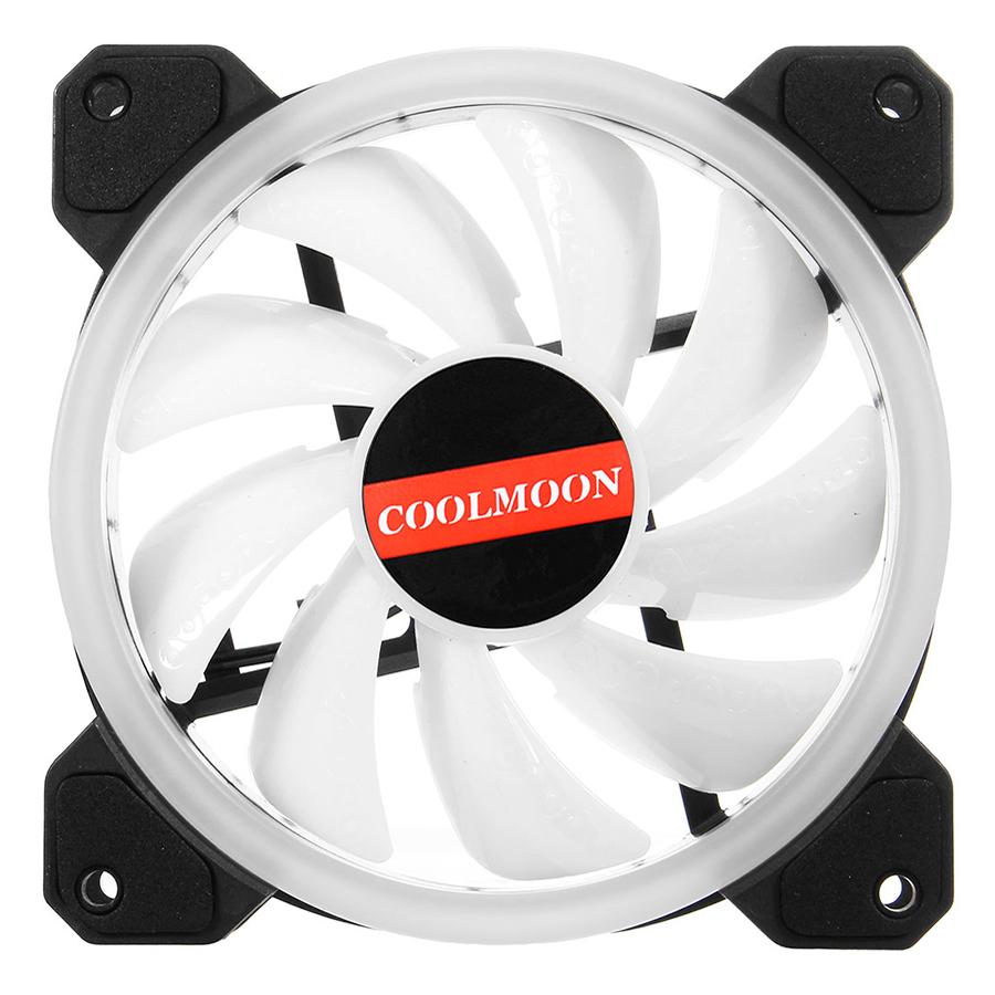 Quạt Tản Nhiệt Coolmoon V2 RGB - Hàng nhập khẩu
