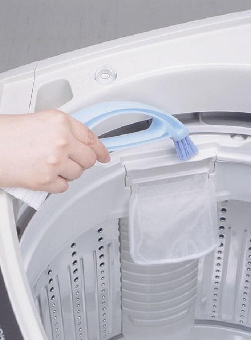 Combo 02 Bàn chải 2 đầu vệ sinh lồng máy giặt tiện dụng - Nhập khẩu Nhật Bản