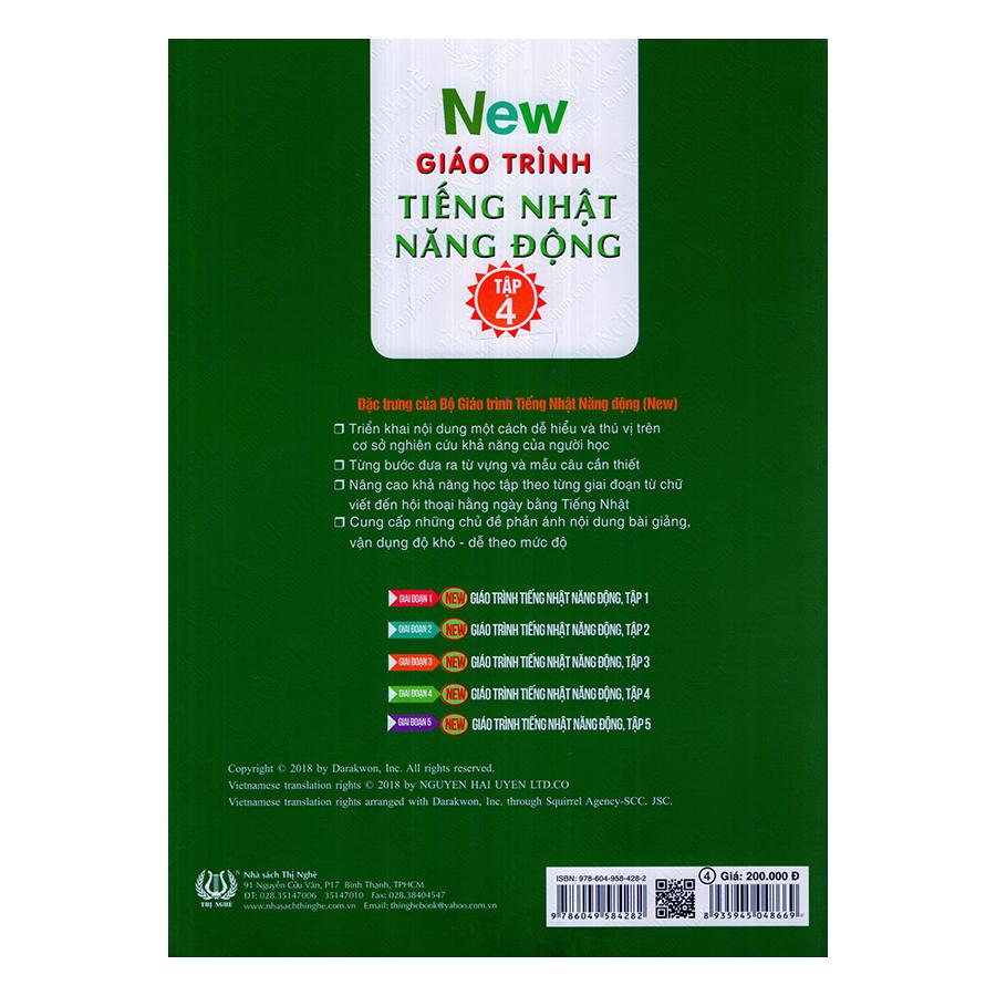 New Giáo Trình Tiếng Nhật Năng Động (Tập 4)