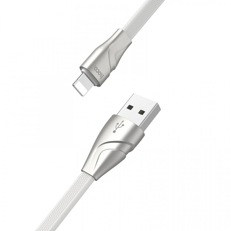 hoco u57 lightning twisting charging data cable joints
