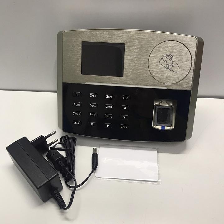 MÁY CHẤM CÔNG VÂN TAY + THẺ CẢM ỨNG+ PIN LƯU ĐIỆN RONALD JACK S800 ( Hàng chính hãng)