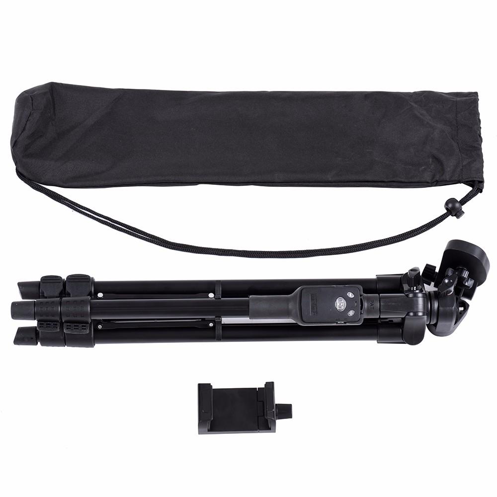 Hình ảnh [Chân chụp ảnh] Chân đế Tripod Bluetooth cho điện thoại và máy ảnh TTX - 6218 (Kèm túi đựng và remote bluetooth) - Hàng nhập khẩu