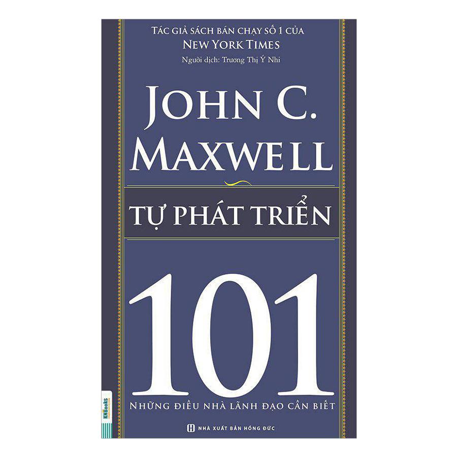 Combo Sách 101 - Những Điều Nhà Lãnh Đạo Cần Biết (4 Cuốn) - Bộ 2