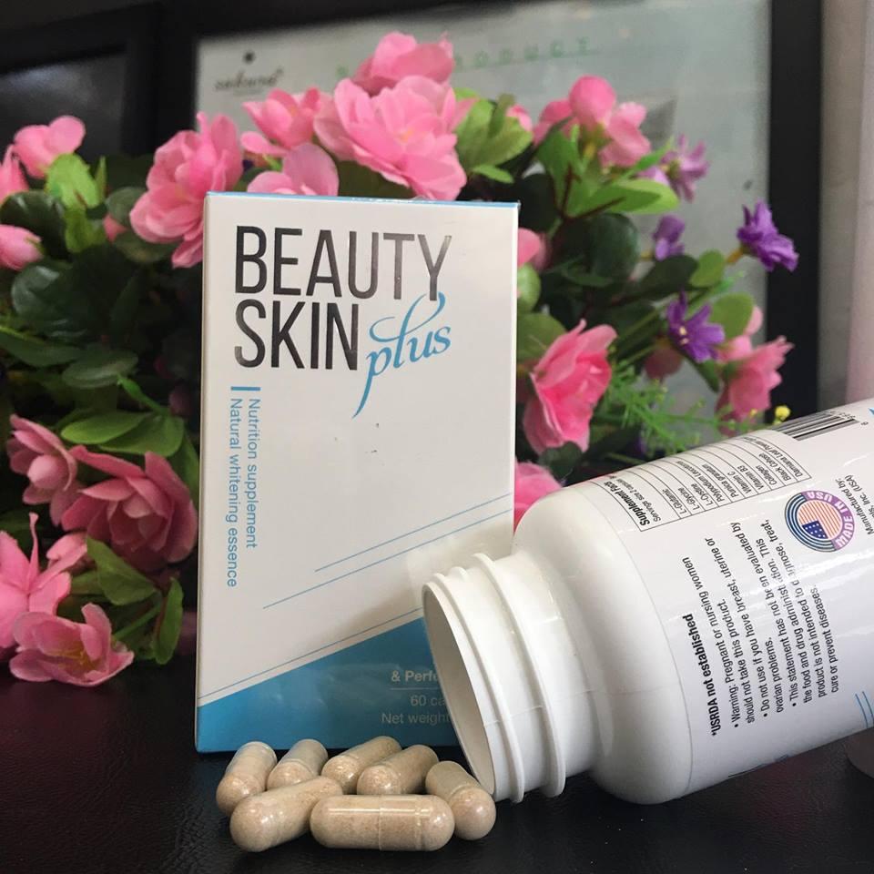 Combo 3 hộp Thực phẩm bảo vệ sức khỏe Beauty Skin Plus
