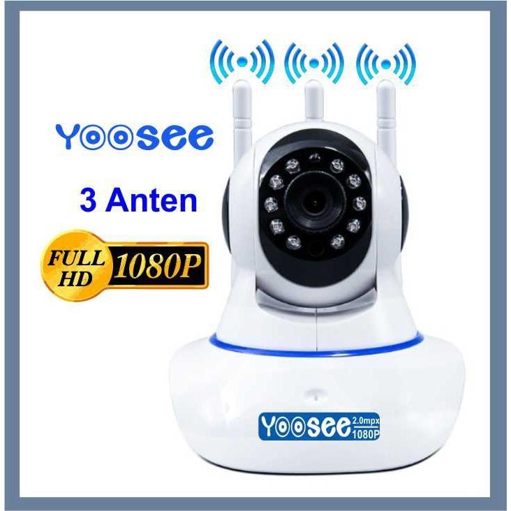 Camera IP WIFI trong nhà YooSee 2.0 ( 3 anten, 11 Led Full HD 1080P) - Hàng chính hãng