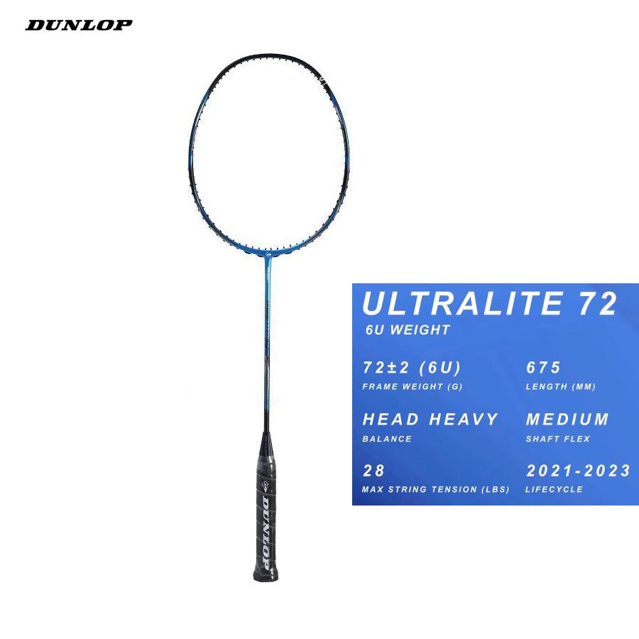 Vợt cầu lông Dunlop Ultra lite 72 G6 - vợt công