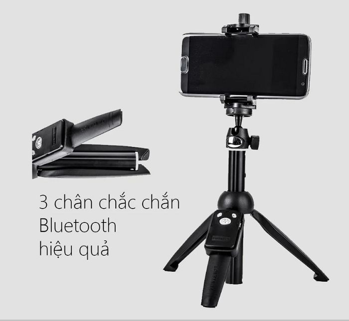 Chân đứng kẹp điện thoại Yunteng YT-9928 hàng chính hãng.