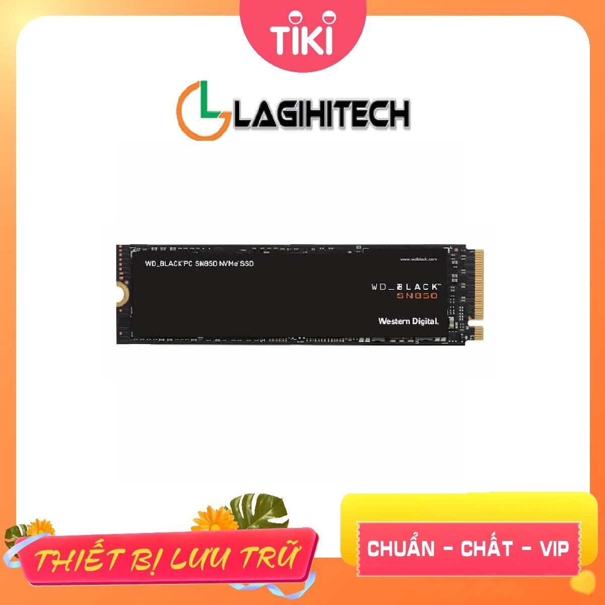 Ổ Cứng gắn trong SSD WD Black SN850 M2 PCIe 4.0 - Hàng Nhập Khẩu