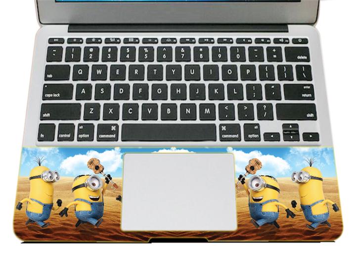 Mẫu Dán Trang Trí Mặt Ngoài + Lót Tay Laptop Hoạt Hình LTHH - 761