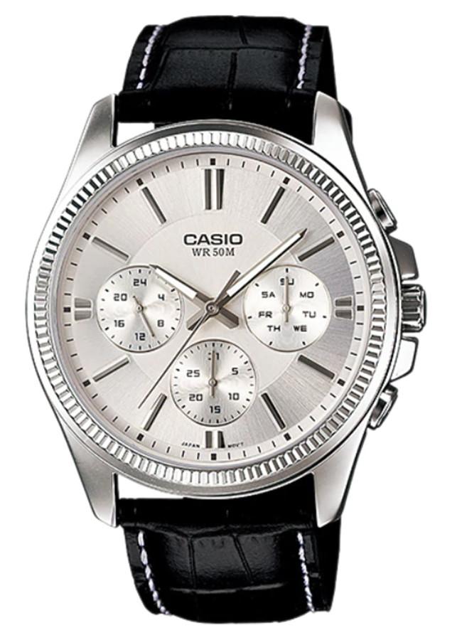 Đồng hồ nam dây da Casio MTP-1375L-7AVDF