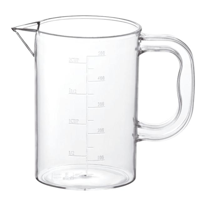bình đựng nước, ca đựng nước bằng nhựa cao cấp có chia dung tích, không có nắp