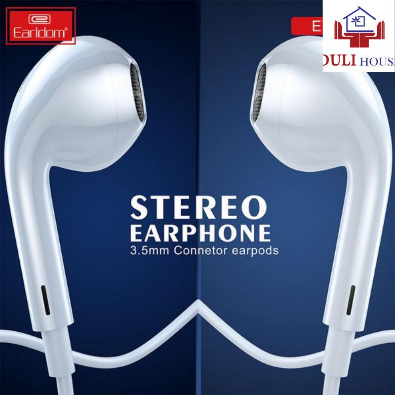 Tai nghe dành cho Oppo/ Samsung cổng 3.5mm, Âm thanh trong trẻo, sống động, hỗ trợ đàm thoại, chống ồn vượt trội, cách âm cực tốt, Hàng chính hãng
