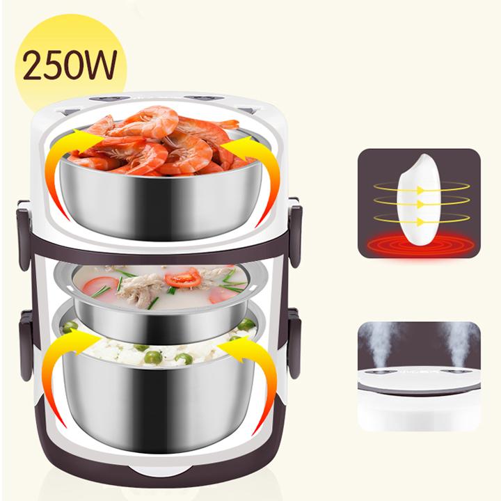 Hộp cơm giữ nhiệt và hâm nóng ST-2760