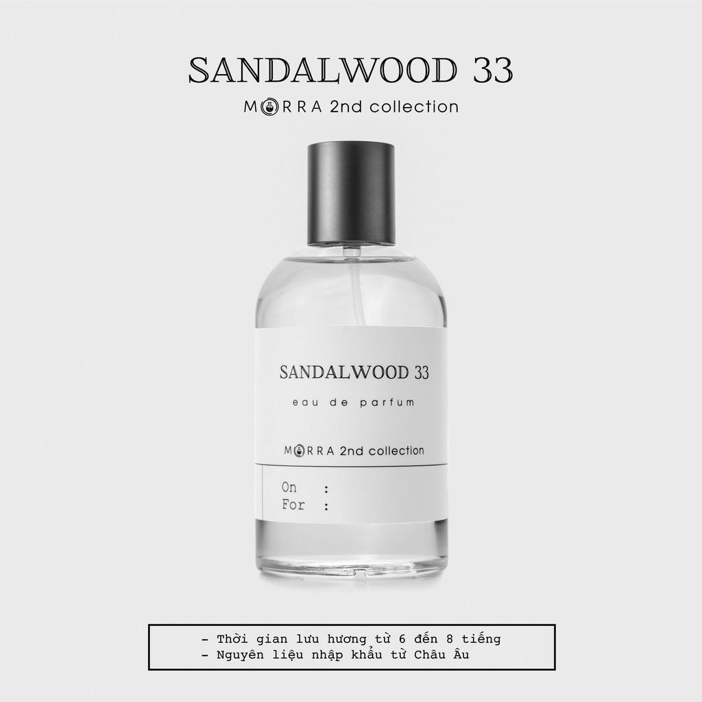 Nước hoa Sandalwood 33 - 100ml