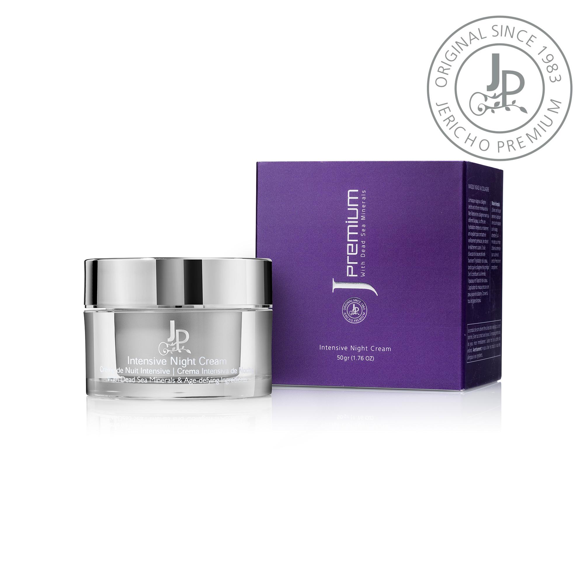 Kem Dưỡng Đêm Cao Cấp Jericho Premium Intensive Night Cream (50gr) - Dưỡng Ẩm Da Từ Khoáng Chất Biển Chết
