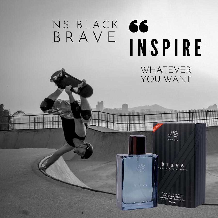 Nước hoa nam NS Black Brave (Make The First Move) 95ml