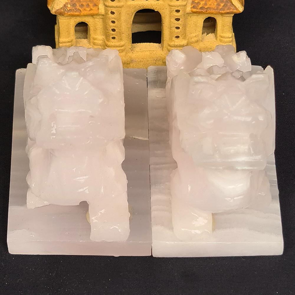 Cặp Đôi Tỳ Hưu Đứng Đá Thạch Anh Hồng Có Đế - 7 Cm - Mx - Hợp Mệnh Hoả, Thổ