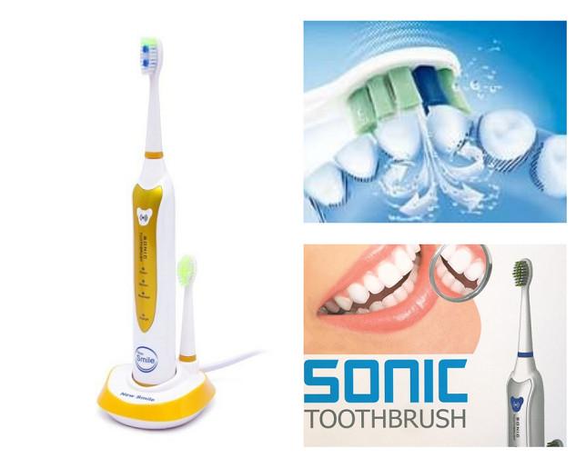 Bộ Bàn Chải Đánh Răng Điện New Smile Sonic MAF8101-V