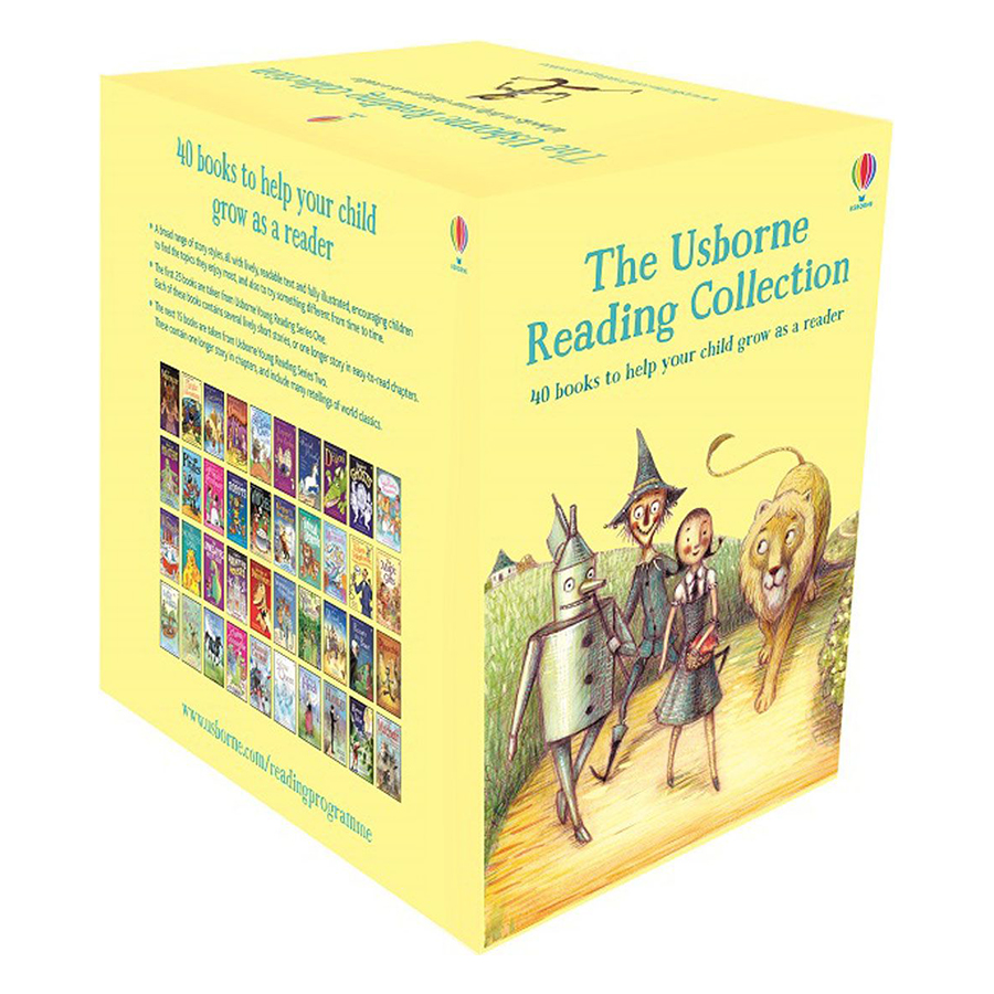 Usborne Bộ Vàng The Usborne Reading Collection - x40 book boxed set