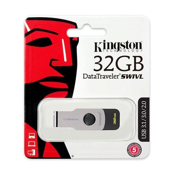 [SPC] USB Kingston DT SWIVL 32GB USB 3.0 Cực đẹp bảo hành chính hãng 60 tháng