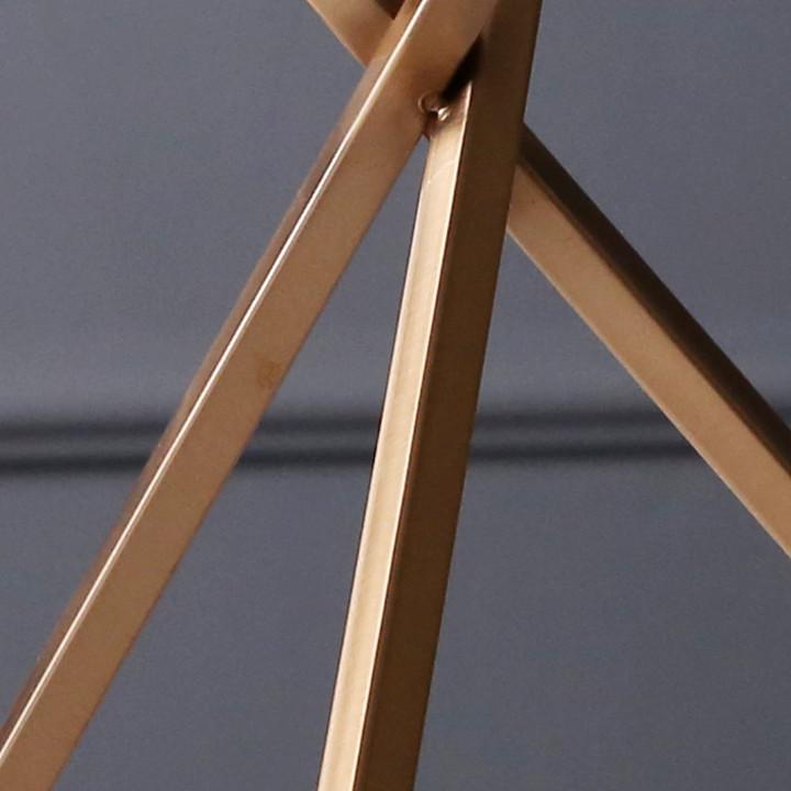 Trang Trí Để Bàn - Bộ 2 Cầu Thủy Tinh Đế 3 Chân DH-FDR013