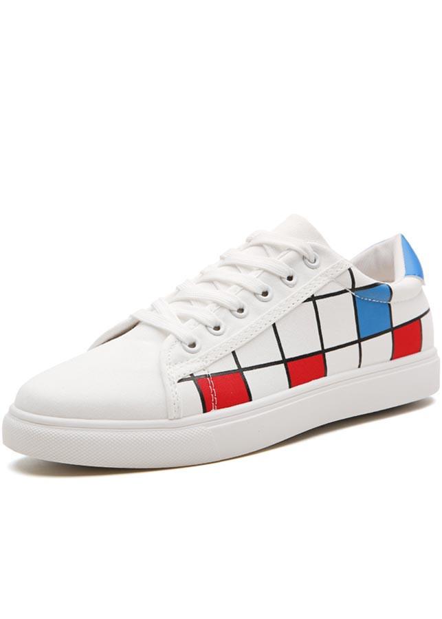 Giày sneaker nam caro thời trang trẻ trung PETTINO - GV05